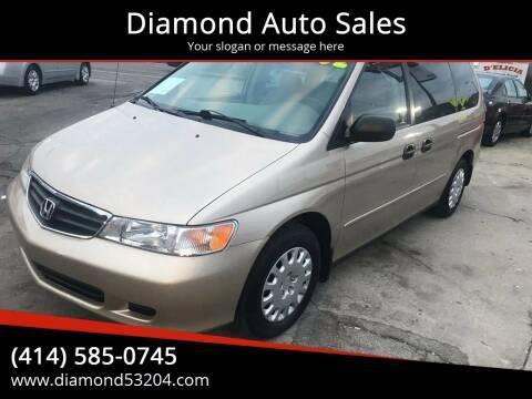 2002 Honda Odyssey for sale at Diamond Auto Sales in Milwaukee WI