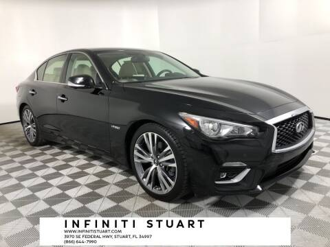2018 Infiniti Q50 Hybrid for sale at Infiniti Stuart in Stuart FL