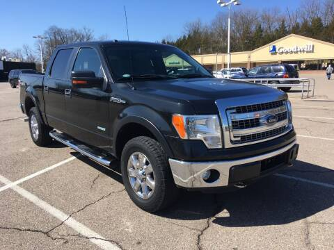 2013 Ford F-150 for sale at Borderline Auto Sales in Loveland OH