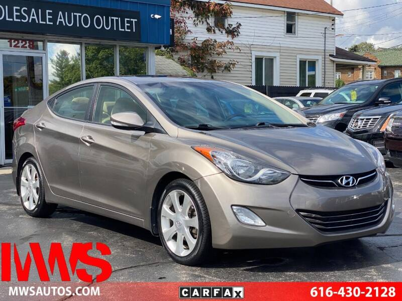 2013 Hyundai Elantra for sale at MWS Wholesale  Auto Outlet in Grand Rapids MI