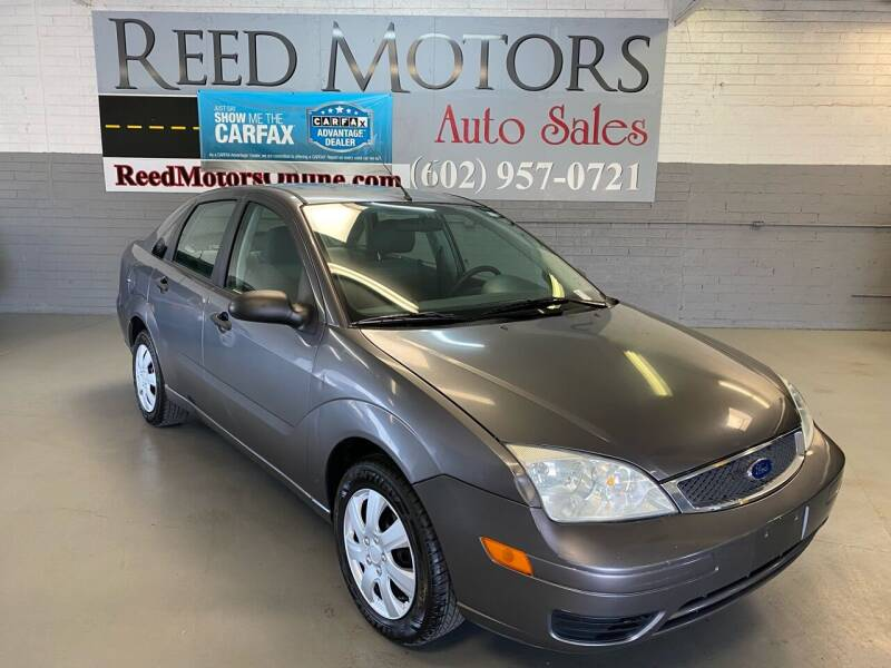 2006 Ford Focus for sale at REED MOTORS LLC in Phoenix AZ