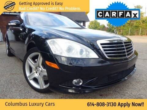 2008 Mercedes-Benz S-Class for sale at Columbus Luxury Cars in Columbus OH