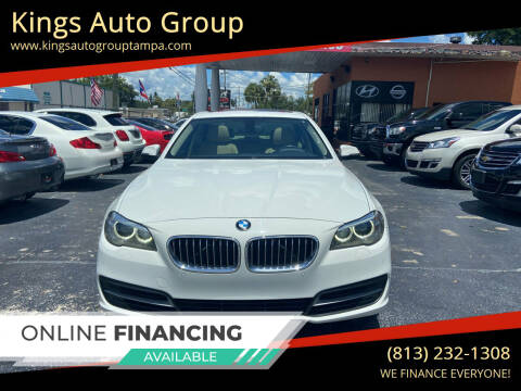 2014 BMW 5 Series for sale at Kings Auto Group in Tampa FL
