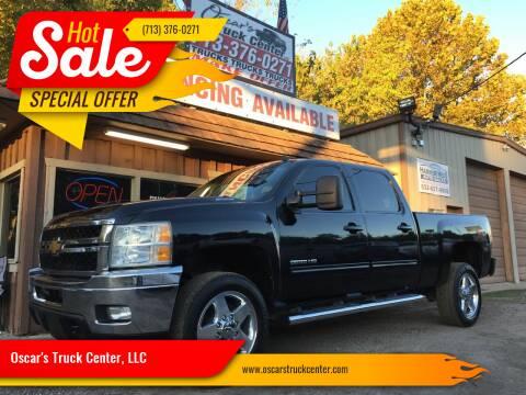2014 Chevrolet Silverado 2500HD for sale at Oscar's Truck Center, LLC in Houston TX