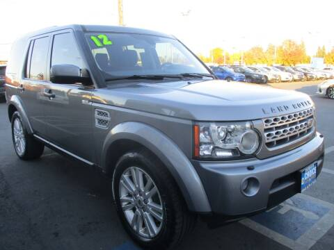 2012 Land Rover LR4 for sale at Choice Auto & Truck in Sacramento CA