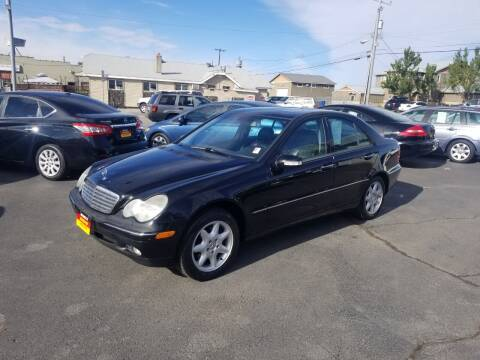 2003 Mercedes-Benz C-Class for sale at Cool Cars LLC in Spokane WA