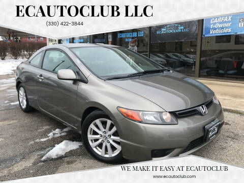 2006 Honda Civic for sale at ECAUTOCLUB LLC in Kent OH