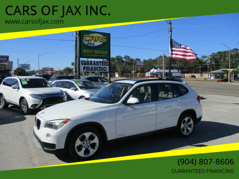 2013 BMW X1 for sale at CARS OF JAX INC. in Jacksonville FL