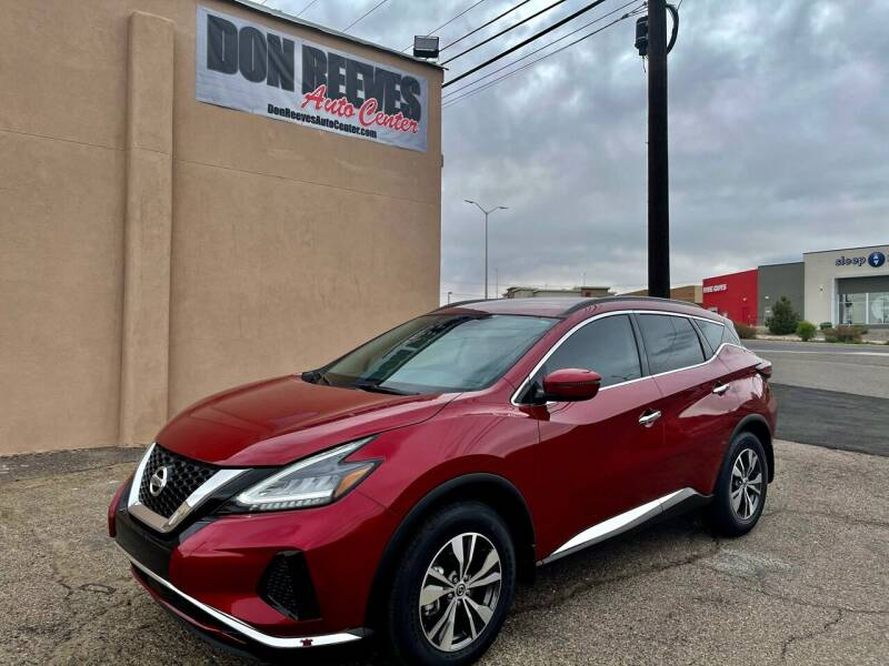 2020 Nissan Murano for sale at Don Reeves Auto Center in Farmington NM