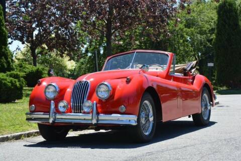 1957 Jaguar XK140 for sale at Gullwing Motor Cars Inc in Astoria NY