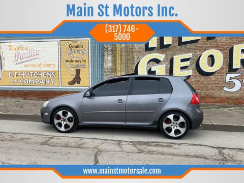 2008 Volkswagen GTI for sale at Main St Motors Inc. in Sheridan IN