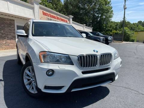2014 BMW X3 for sale at North Georgia Auto Brokers in Snellville GA