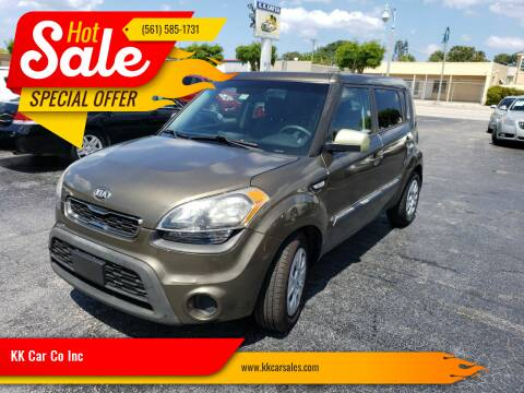 2013 Kia Soul for sale at KK Car Co Inc in Lake Worth FL