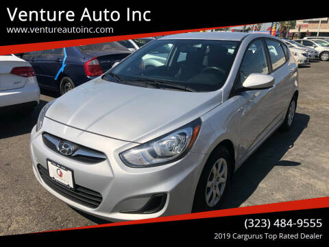 2013 Hyundai Accent for sale at Venture Auto Inc in South Gate CA