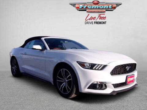 2016 Ford Mustang for sale at Rocky Mountain Commercial Trucks in Casper WY