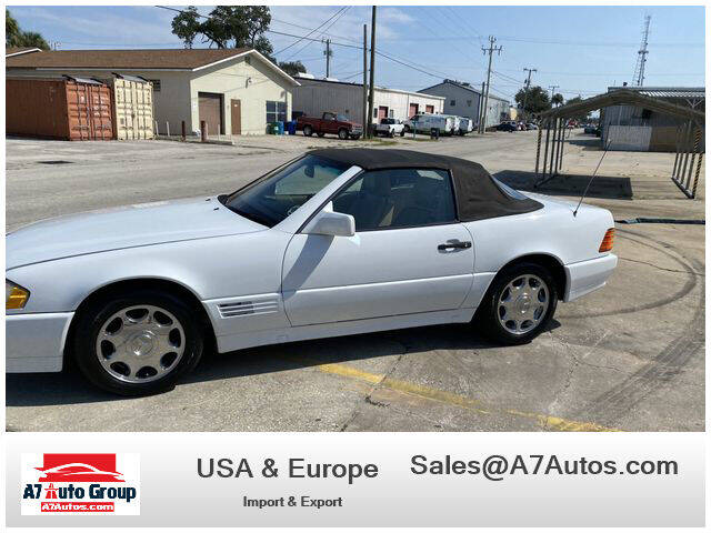 1995 Mercedes-Benz SL-Class for sale at A7 AUTO SALES in Holly Hill FL