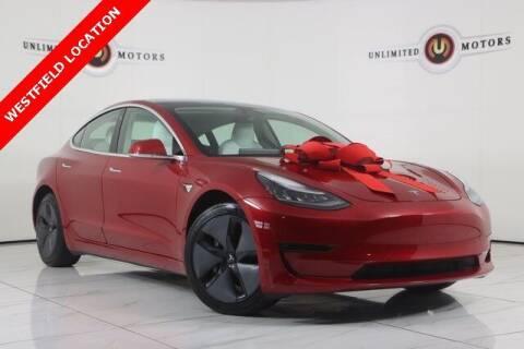 2020 Tesla Model 3 for sale at INDY'S UNLIMITED MOTORS - UNLIMITED MOTORS in Westfield IN
