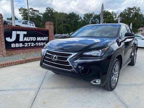 2015 Lexus NX 200t for sale at J T Auto Group in Sanford NC
