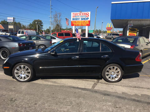 2007 Mercedes-Benz E-Class for sale at Deckers Auto Sales Inc in Fayetteville NC