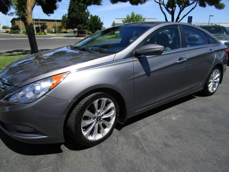2011 Hyundai Sonata for sale at KM MOTOR CARS in Modesto CA