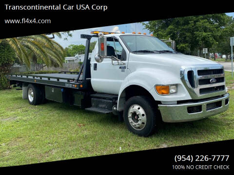 2015 Ford F-650 Super Duty for sale at Transcontinental Car USA Corp in Fort Lauderdale FL