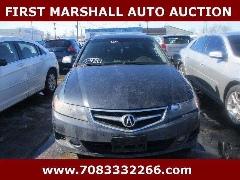 2008 Acura TSX for sale at First Marshall Auto Auction in Harvey IL