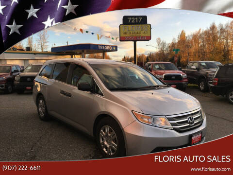 2012 Honda Odyssey for sale at FLORIS AUTO SALES in Anchorage AK