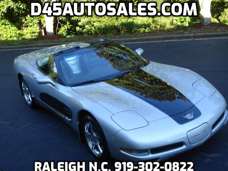 2003 Chevrolet Corvette for sale at D45 Auto Brokers in Raleigh NC