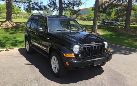 2005 Jeep Liberty for sale at QUEST MOTORS in Englewood CO