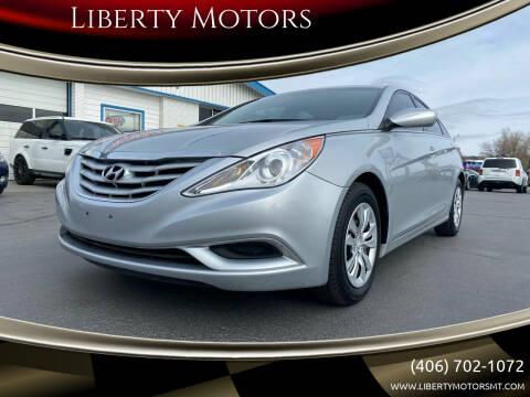 2011 Hyundai Sonata for sale at Liberty Motors in Billings MT