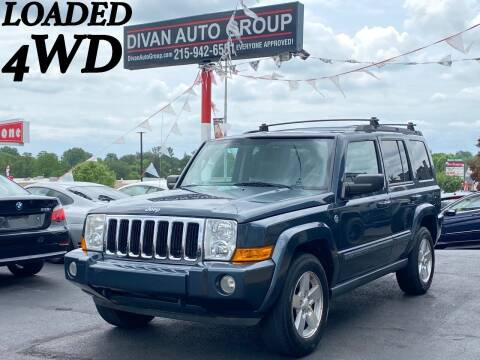 2007 Jeep Commander for sale at Divan Auto Group in Feasterville PA