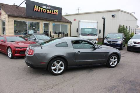2010 Ford Mustang for sale at BANK AUTO SALES in Wayne MI
