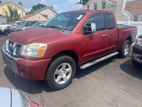 2004 Nissan Titan for sale at Park Avenue Auto Lot Inc in Linden NJ