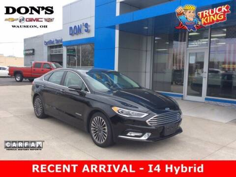 2017 Ford Fusion Hybrid for sale at DON'S CHEVY, BUICK-GMC & CADILLAC in Wauseon OH