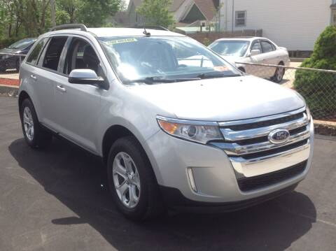2014 Ford Edge for sale at Sindic Motors in Waukesha WI