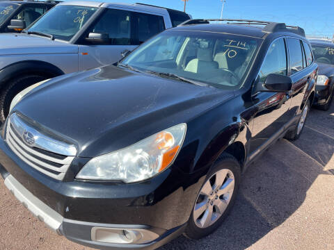 2010 Subaru Outback for sale at PYRAMID MOTORS - Fountain Lot in Fountain CO