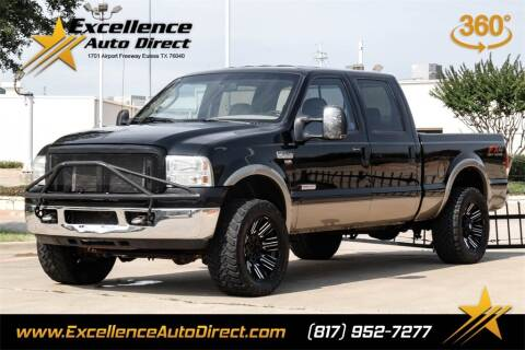 2006 Ford F-250 Super Duty for sale at Excellence Auto Direct in Euless TX