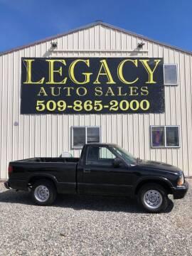 2003 GMC Sonoma for sale at Legacy Auto Sales in Toppenish WA