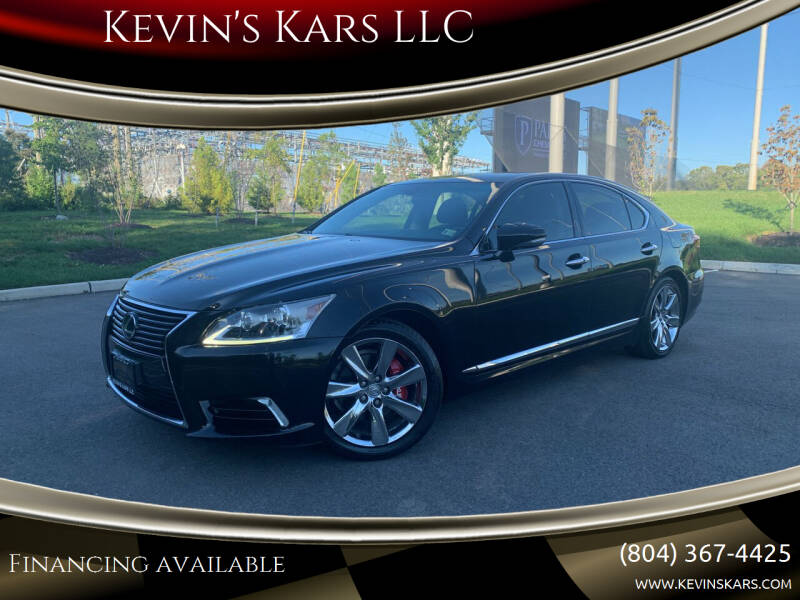 2014 Lexus LS 460 for sale at Kevin's Kars LLC in Richmond VA