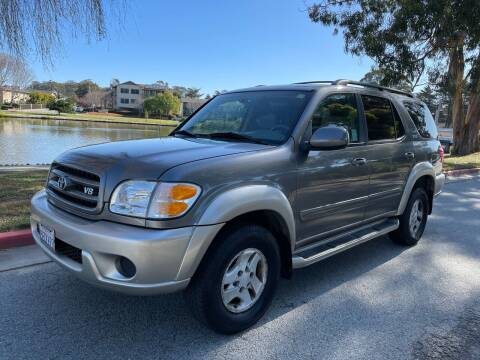 2003 Toyota Sequoia for sale at Dodi Auto Sales in Monterey CA