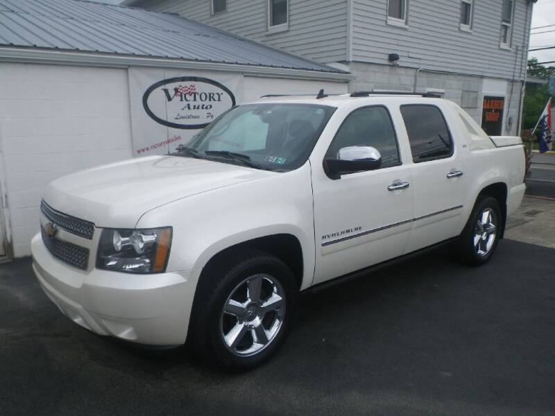 2012 Chevrolet Avalanche for sale at VICTORY AUTO in Lewistown PA