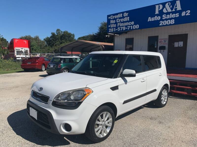 2012 Kia Soul for sale at P & A AUTO SALES in Houston TX