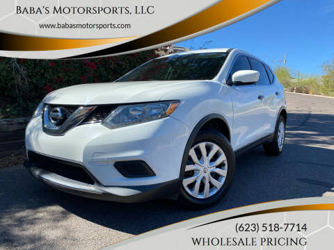 2016 Nissan Rogue for sale at Baba's Motorsports, LLC in Phoenix AZ