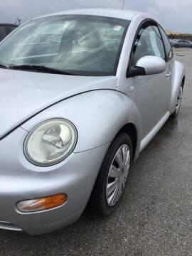 2001 Volkswagen New Beetle for sale at Midland Commercial. Chicago Cargo Vans & Truck in Bridgeview IL