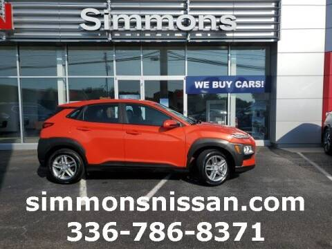 2020 Hyundai Kona for sale at SIMMONS NISSAN INC in Mount Airy NC