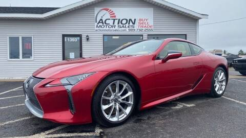 2018 Lexus LC 500 for sale at Action Motor Sales in Gaylord MI