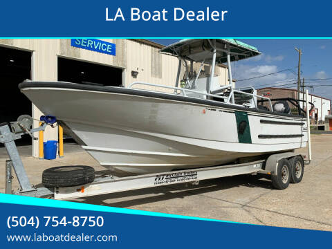 2003 Boston Whaler 24 Justice for sale at LA Boat Dealer - Offshore Boats in Metairie LA