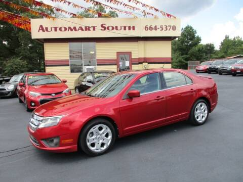 2010 Ford Fusion for sale at Automart South in Alabaster AL