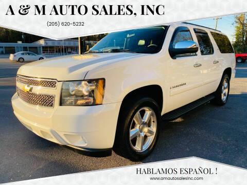 2008 Chevrolet Suburban for sale at A & M Auto Sales, Inc in Alabaster AL