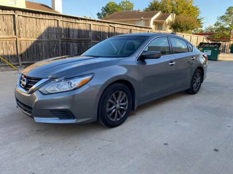 2017 Nissan Altima for sale at T.S. IMPORTS INC in Houston TX